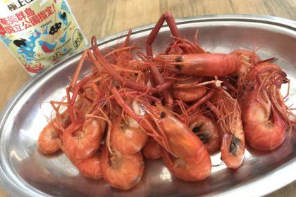 Long-arm fresh water prawn, the taste of summer in Amami Ōshima.